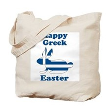 Greek Easter Tote Bag