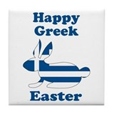 Greek Easter Tile Coaster