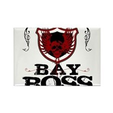 Bay Bo$$ Rectangle Magnet