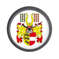 Carinthia Coat of Arms Wall Clock