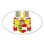 Carinthia Coat of Arms Oval Sticker