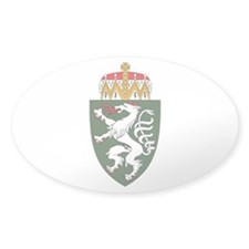 Styria Coat of Arms Oval Decal