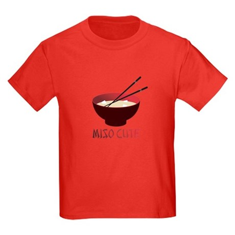 Miso Cute Kids Dark T-Shirt