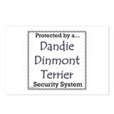 Dandie Security Postcards (Package of 8)