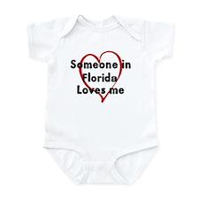 Loves me: Florida Infant Bodysuit