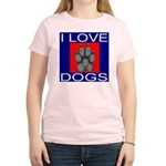 I Love Dogs Women's Light T-Shirt