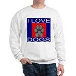 I Love Dogs Sweatshirt