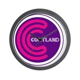 Cortland, Ohio Wall Clock