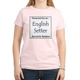 English Setter Security T-Shirt