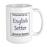 English Setter Security Mug