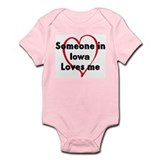 Loves me: Iowa Onesie