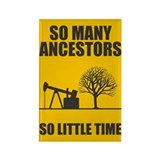 So Many Ancestors Rectangle Magnet