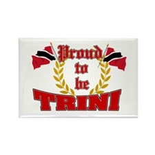 Proud to be Trini Rectangle Magnet