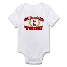 Proud to be Trini Infant Bodysuit