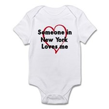Loves me: New York Infant Bodysuit