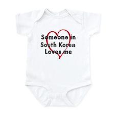 Loves me: South Korea Onesie