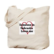 Loves me: Nebraska Tote Bag