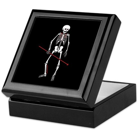 Hunting Skeleton Keepsake Box