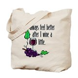 I Whine &amp; Wine Tote Bag