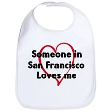 Loves me: San Francisco Bib