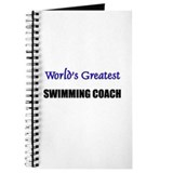 Worlds Greatest SWIMMING COACH Journal