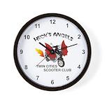 Heck's Angels Wall Clock