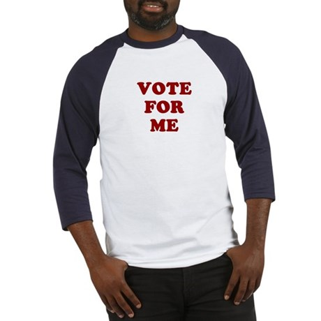 Vote For Me Baseball Jersey