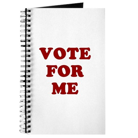 Vote For Me Journal