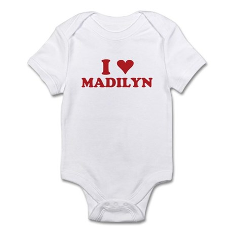 I LOVE MADILYN Infant Bodysuit