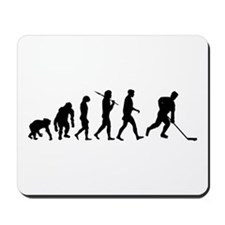 Evolution of Ice Hockey Mousepad