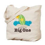 The Big One Surf Tote Bag