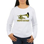 Trumpets Kick Brass Women's Long Sleeve T-Shirt