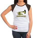 Trumpets Kick Brass Women's Cap Sleeve T-Shirt
