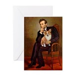 Lincoln's Corgi Greeting Card