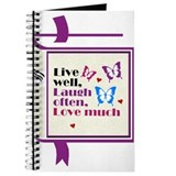Live Well Laugh Often Journal