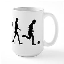 Evolution of Soccer Mug