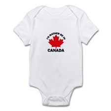 I'd Rather Be in Canada Infant Bodysuit