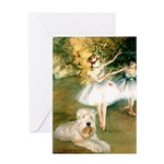 Dancer1/Wheaten T Greeting Card