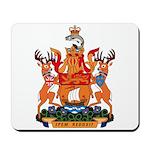 New Bruswick Coat of Arms  Mousepad