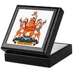 New Bruswick Coat of Arms Keepsake Box