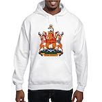 New Bruswick Coat of Arms Hooded Sweatshirt