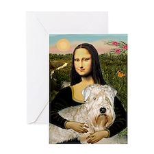 Mona's Wheaten Greeting Card