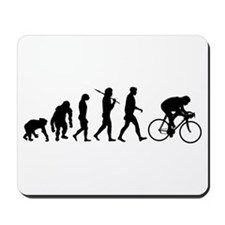 Evolution of cycling Mousepad