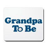 grandpa to be baseball Mousepad