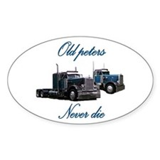 Old Peter Never Die Oval Decal