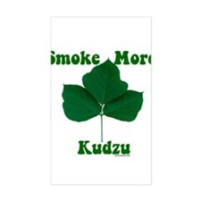 Smoke More Kudzu Rectangle Decal