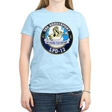 USS Shreveport LPD 12 T-Shirt
