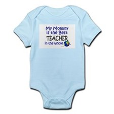 Best Teacher In The World (Mommy) Onesie