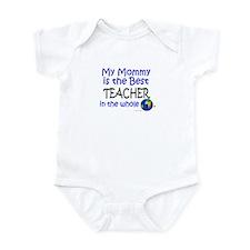 Best Teacher In The World (Mommy) Onesie