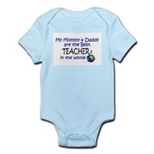 Best Teachers In The World Infant Bodysuit